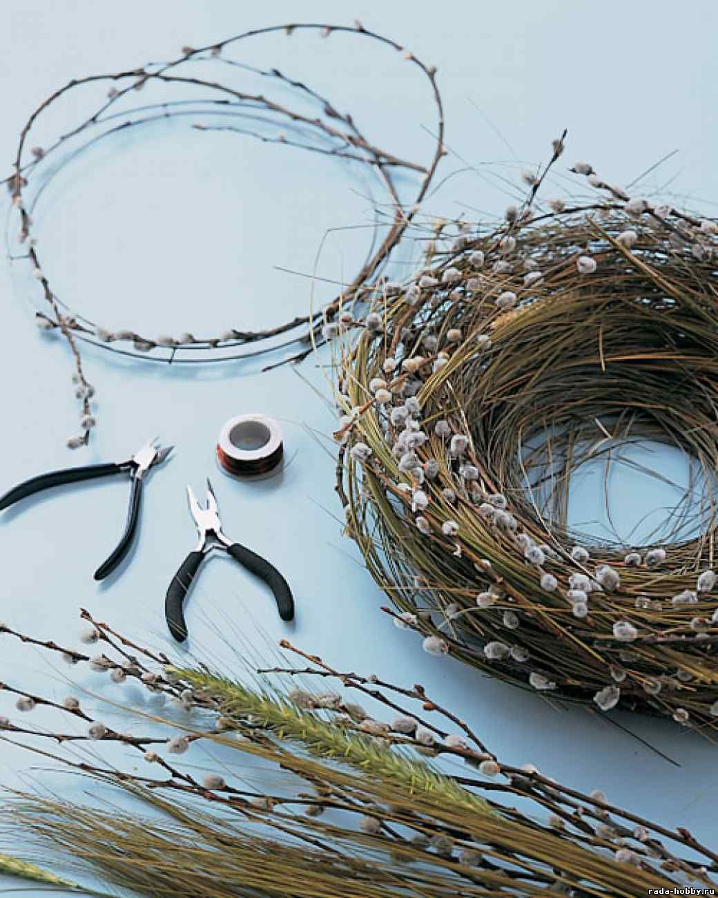 Как своими руками сделать гнездо
